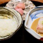銀座の「徳 うち山」で食べた鯛茶漬けの話