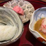 徳うち山の鯛茶漬けと焼き胡麻豆腐の話